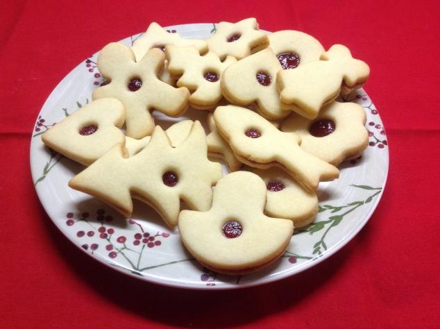 Традиционное Рождественское Чехословацкое печенье  I. Линецкое печенье