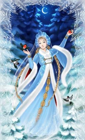 Новогоднее волшебство от Снегурочки!