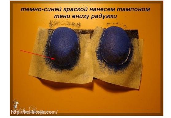 Как сделать глаза кукле
