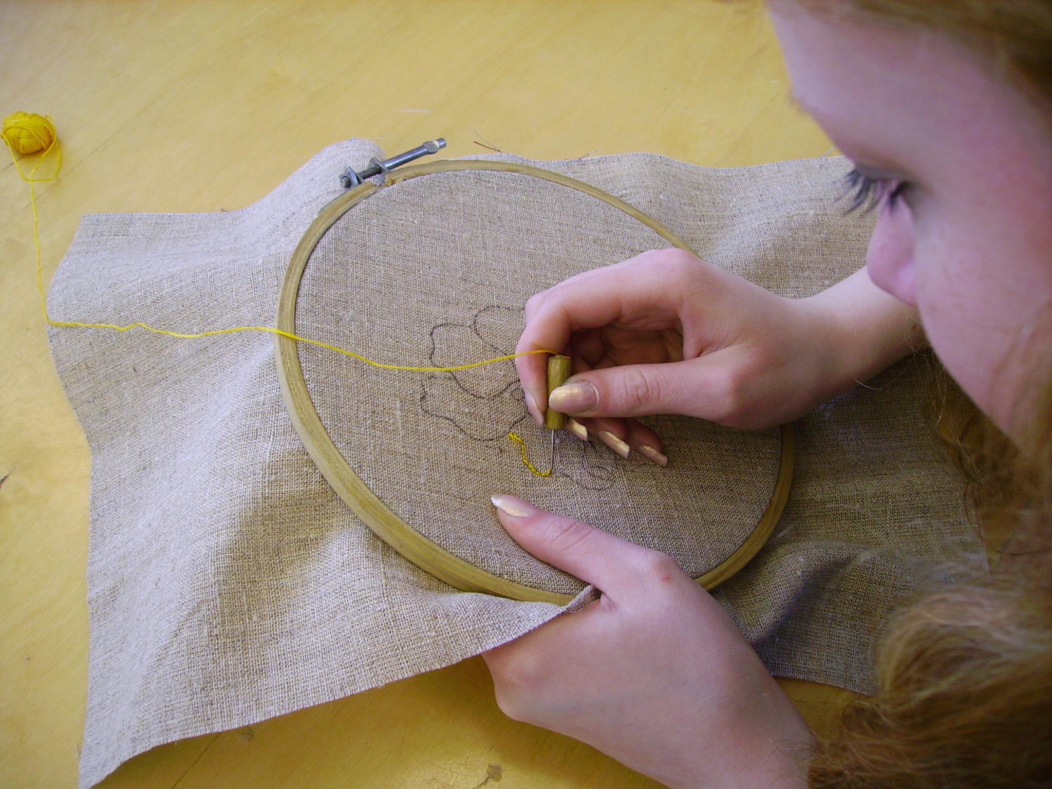 Ковровое вышивание мастер класс