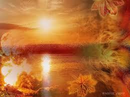 Пришёл сентябрь, взгляни в окошко, И солнце светит нам немножко. И в праздник ваш весь мир как в сказке, Купается в осенних красках. Пусть беды стаей улетают, И Ангел путь ваш охраняет. Живите же, в любви и без разлук, Пусть рядом будет верный друг!