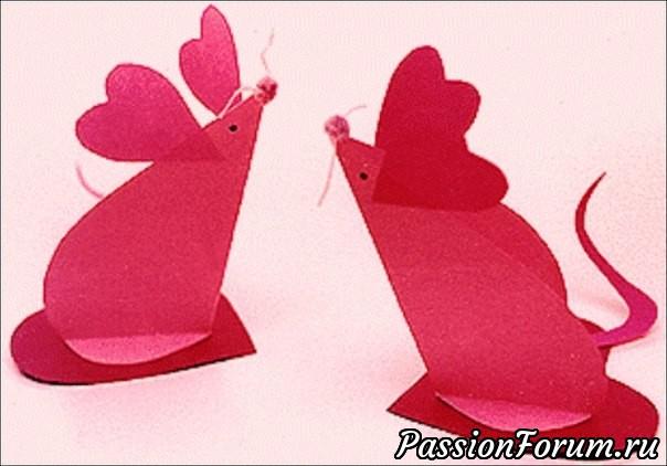 Свадебные сердечки из бумаги
