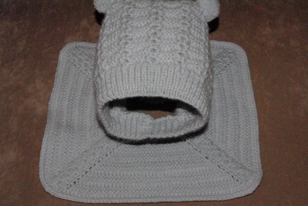 МК шапочка - шлем 2 часть.
