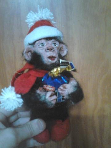 обезьянус из глины