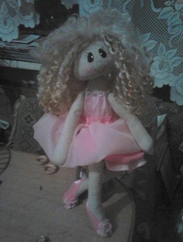 куколка в подарок  Настёнька