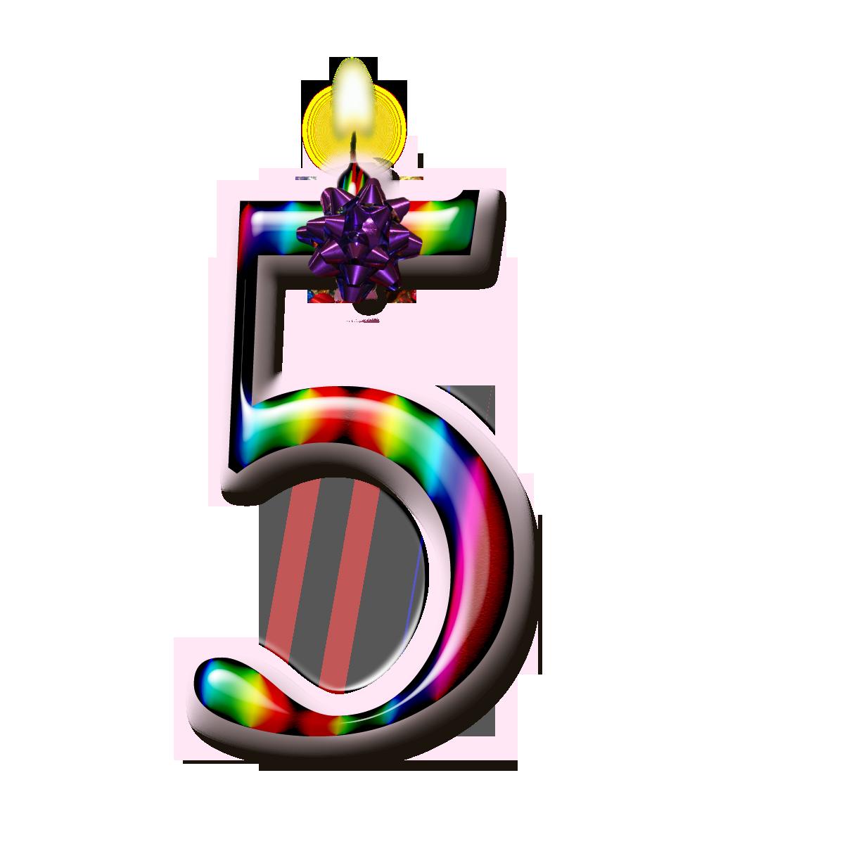 Картинки цифра 5 на день рождения своими руками