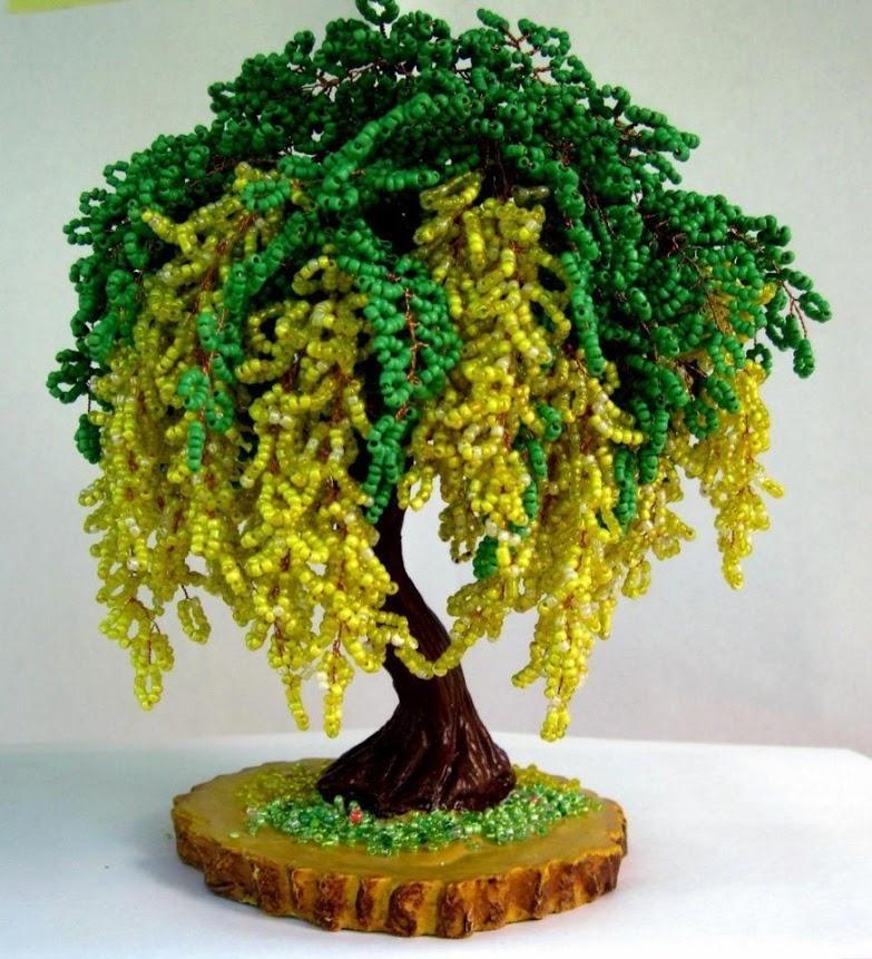 дерево из бисеру новинки