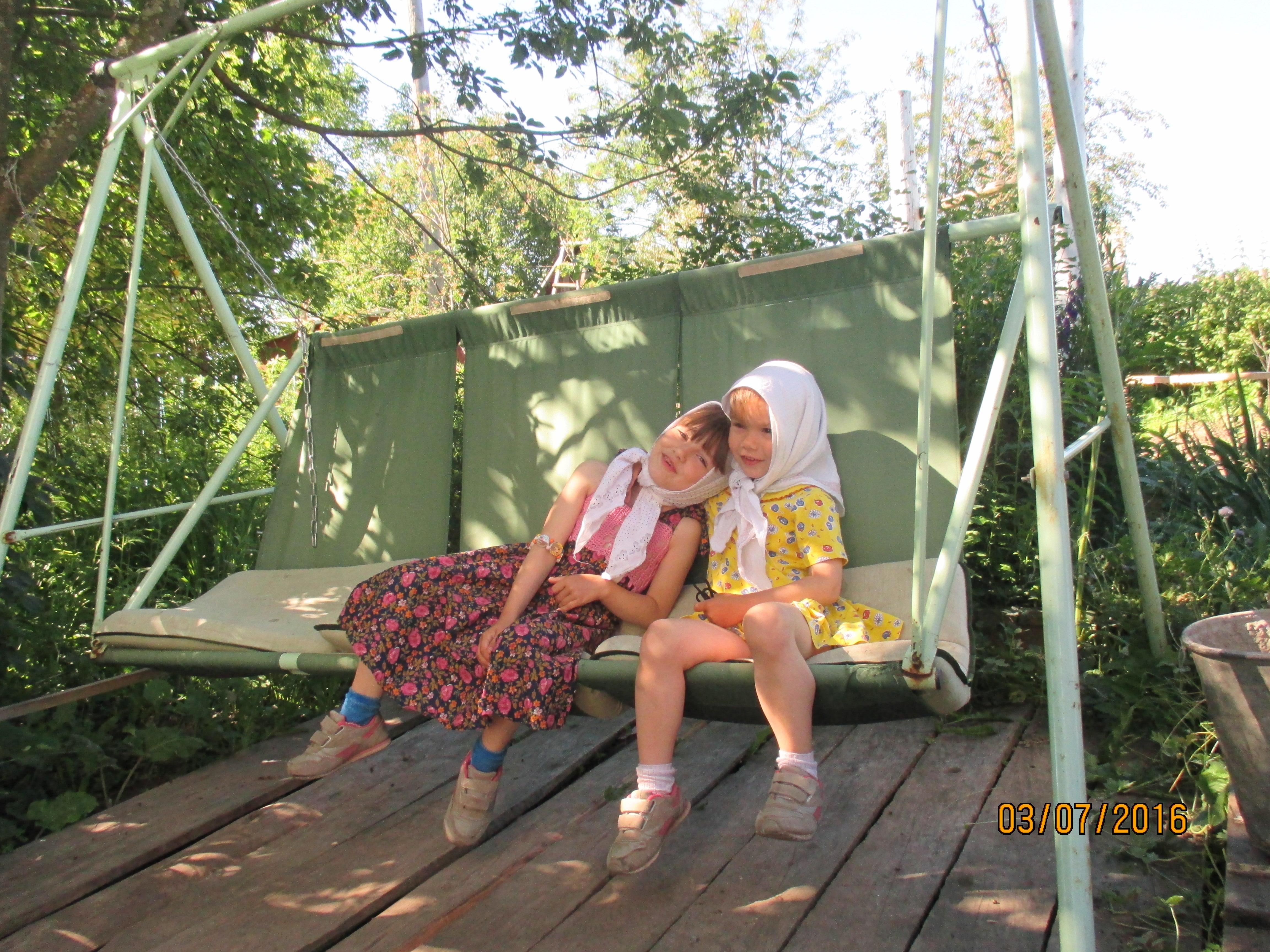 Приехала в деревню к деду внучка 27 фотография