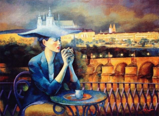 Вечерний кофе...с умной Женщиной.
