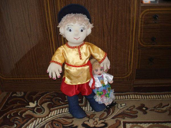 КУКЛА СТЁПКА, игрушки