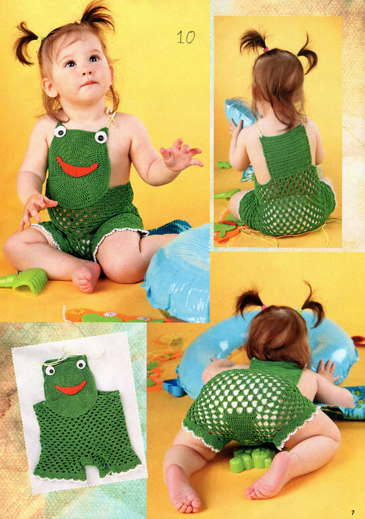 Интересные идеи вязание для малышей