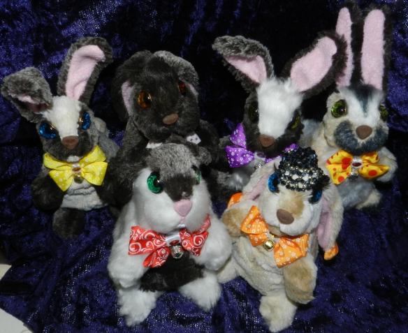 Новый выводок зайцев-кроликов