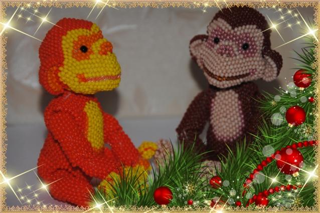 С годом Огненной обезьяны!