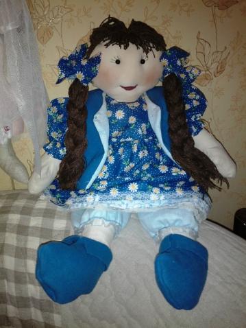льняные куклы