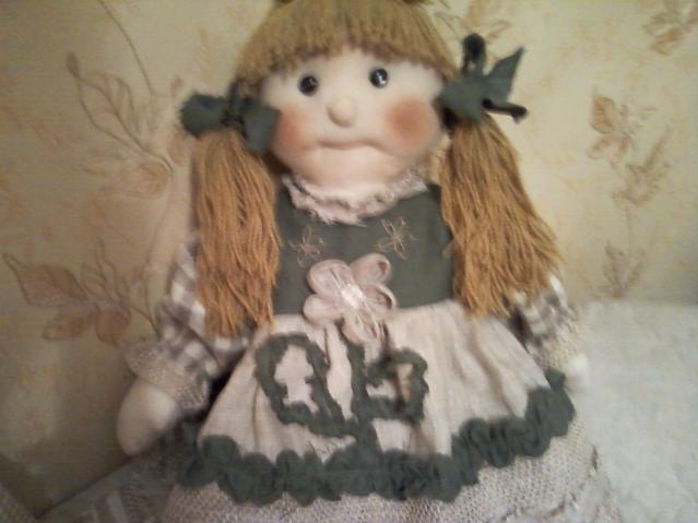 кукла льняная