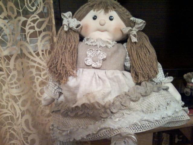 и снова кукла