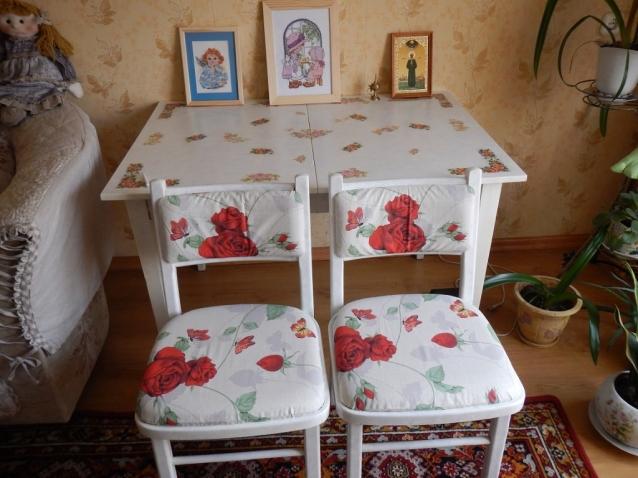 Обновка старой мебели