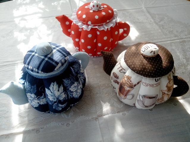 Тильды-чайники
