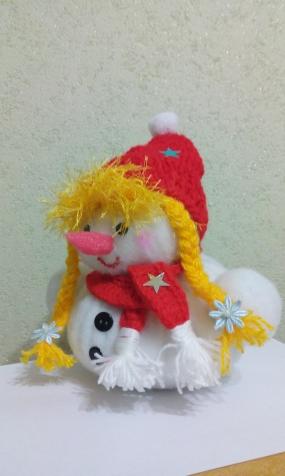 Снеговички на выставку.