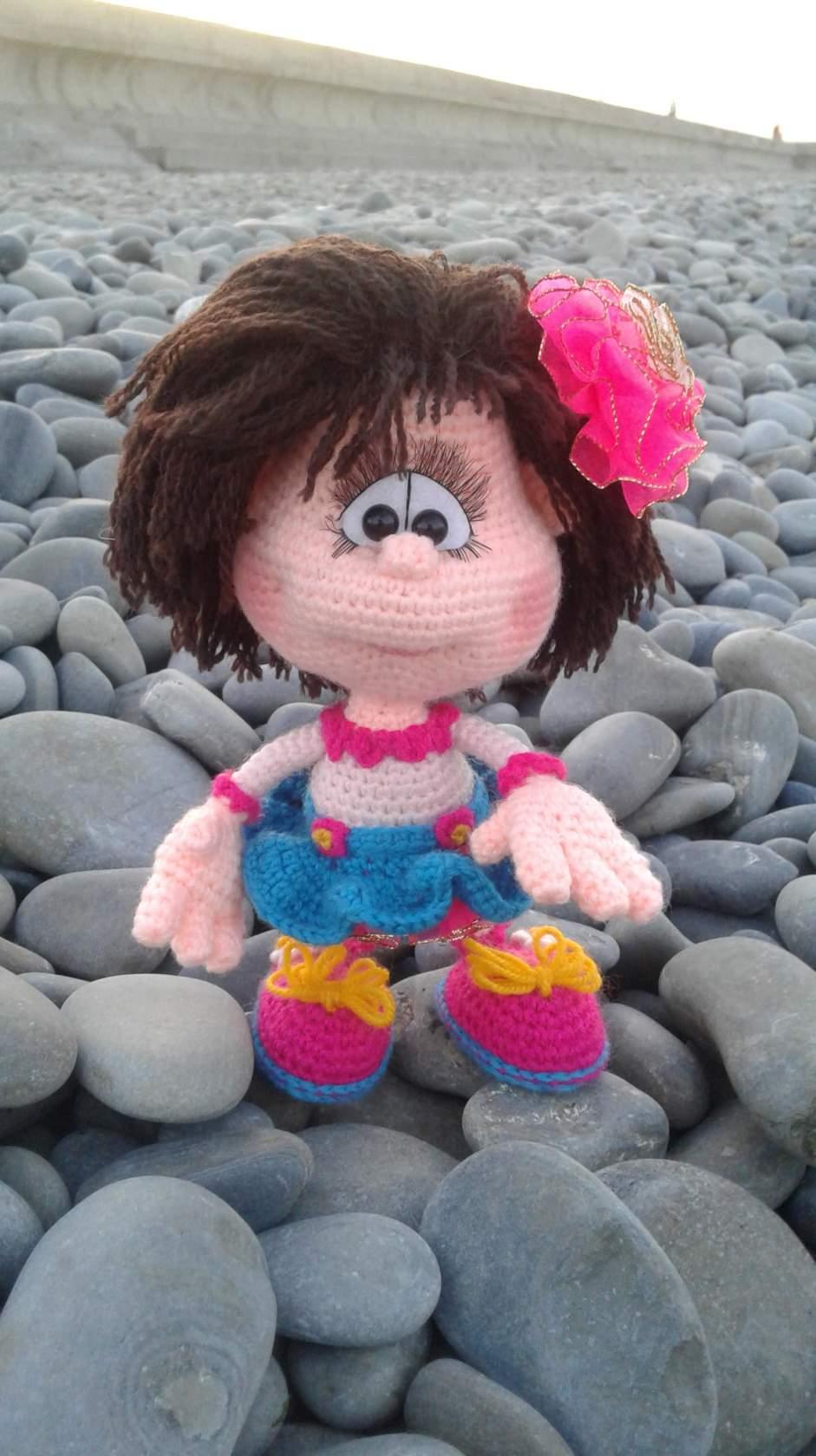 девочка амигуруми схемы вязания