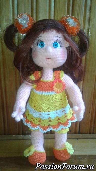 ЮЛЬКА-ИЮЛЬКА, кукла с одежками, куклы крючком, куклы вязание, игрушки для души, вязание крючком, мир игрушки, игрушки крючком