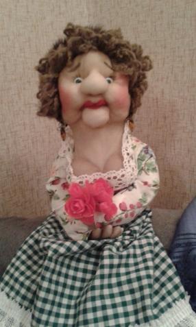 мои куколки-пакетницы