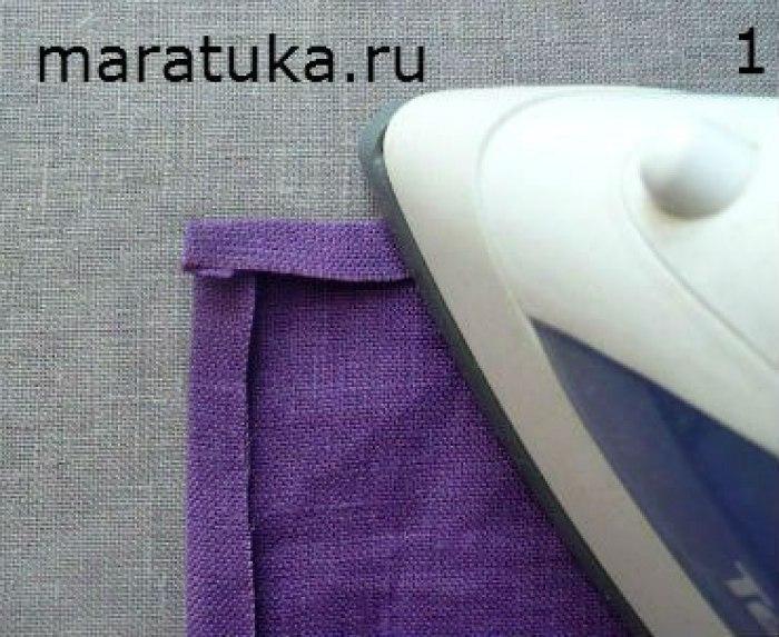 Как сделать углы на одежде