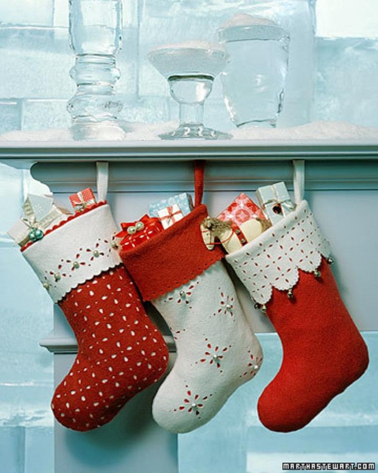 Сапожок для новогодних подарков своими руками