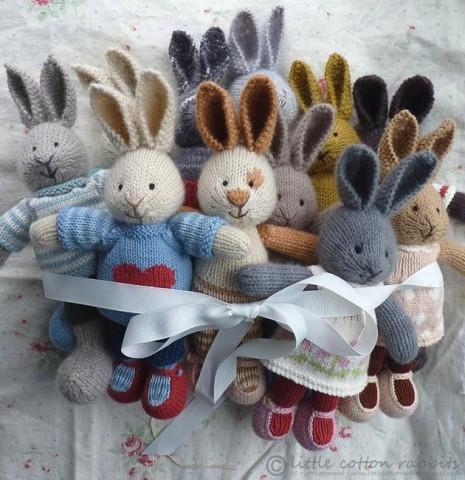 Вяжем зайца для начинающих