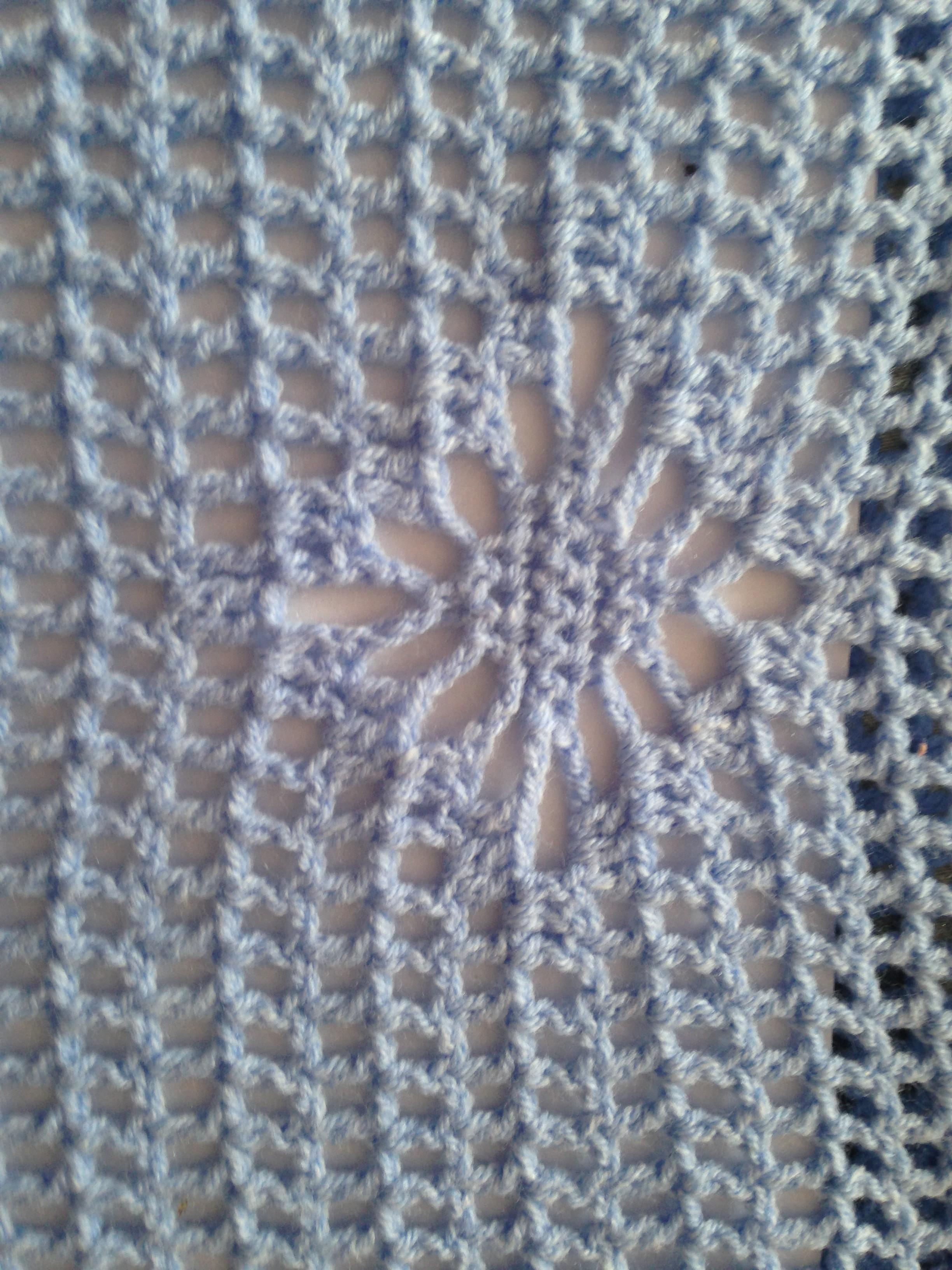 Одежда тунисским вязанием