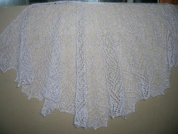 Шаль Soli Deo Gloria Lace Shawl by Anna Victoria