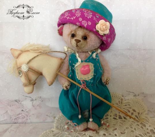 Мишка тедди Ванюшка