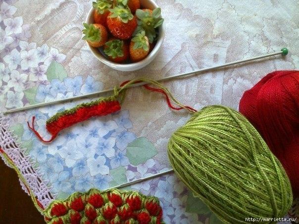 钩针教程:草莓图案童装 - maomao - 我随心动
