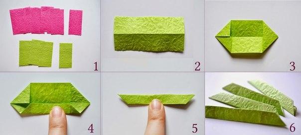 Оригами модульное как сделать кувшинку