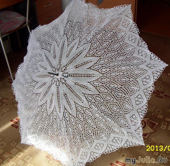 针织:美丽的伞 - maomao - 我随心动