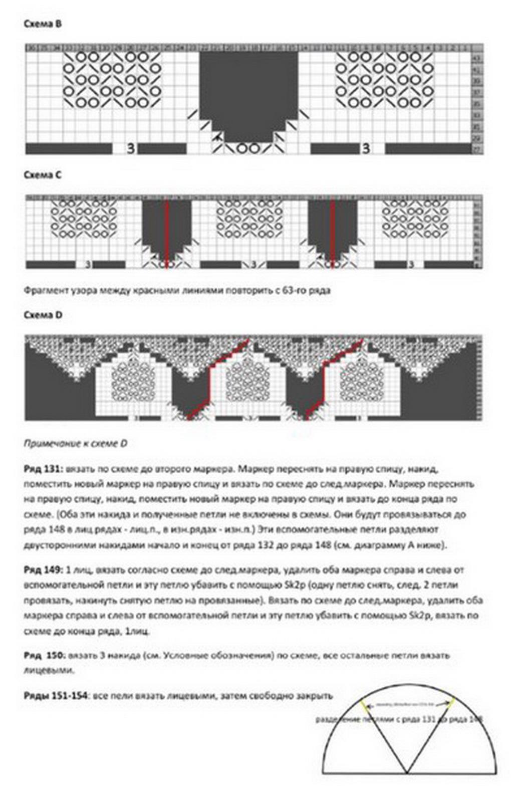 схема вязания принца на горошине