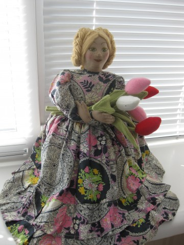 Как я подарила вторую жизнь старой кукле, старая кукла, новая жизнь