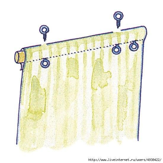 Рулонная штора на пластиковое окно своими руками