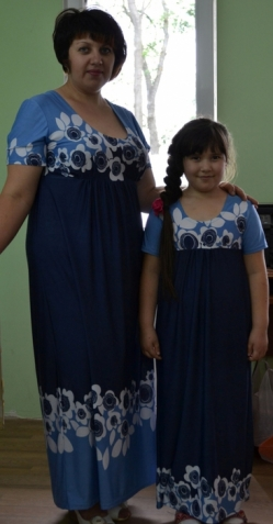 """Платье """"Синие цветы"""""""