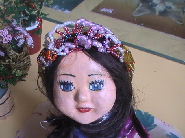 Куклы из пластика и папье маше