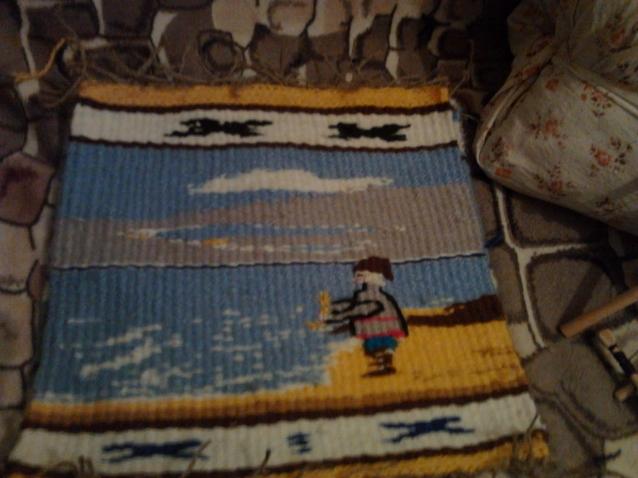 Плетение в технике габилен на рамке
