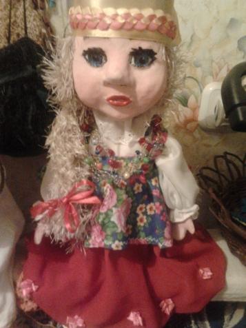 Куклы театральные и сувенирные