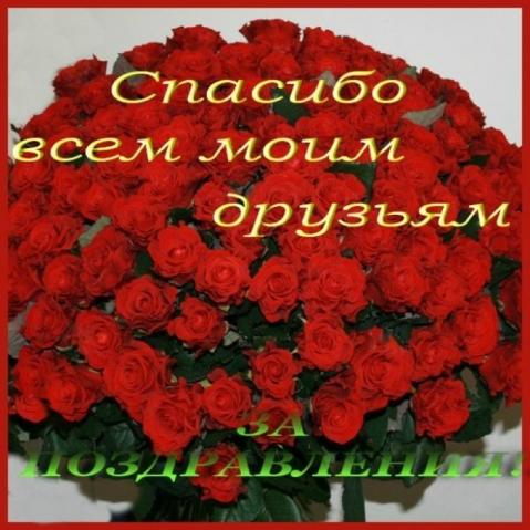 Спасибо моим друзьям