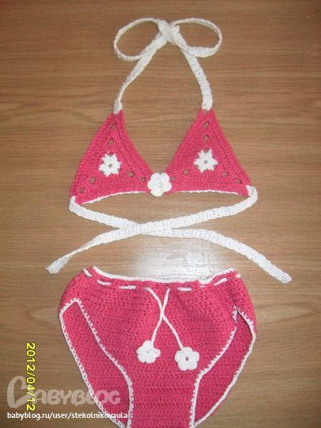 Вязание детского лифа крючком :: Вязание платьица для