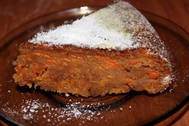 Морковный кексик - нежный и вкусный!