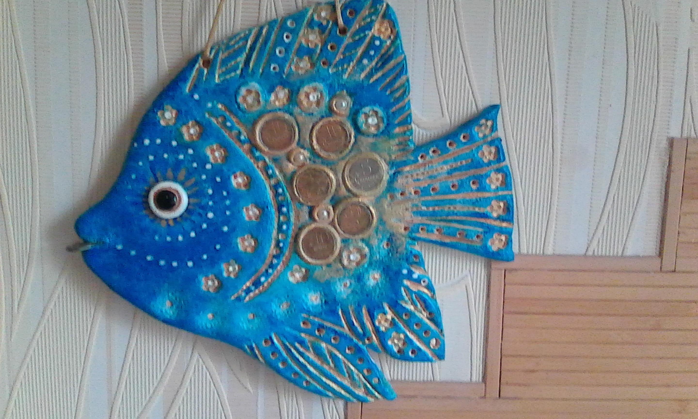 Рыбки из соленого теста. Мастер