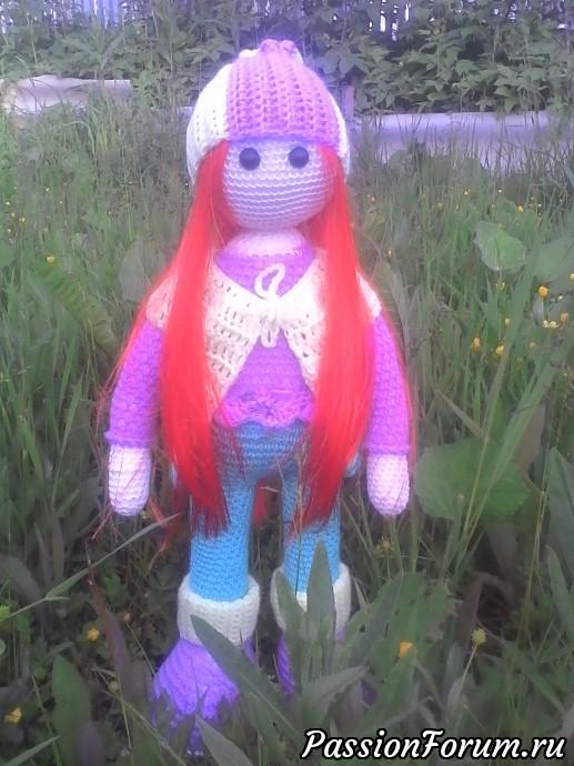 Вот такая куколка у меня получилась