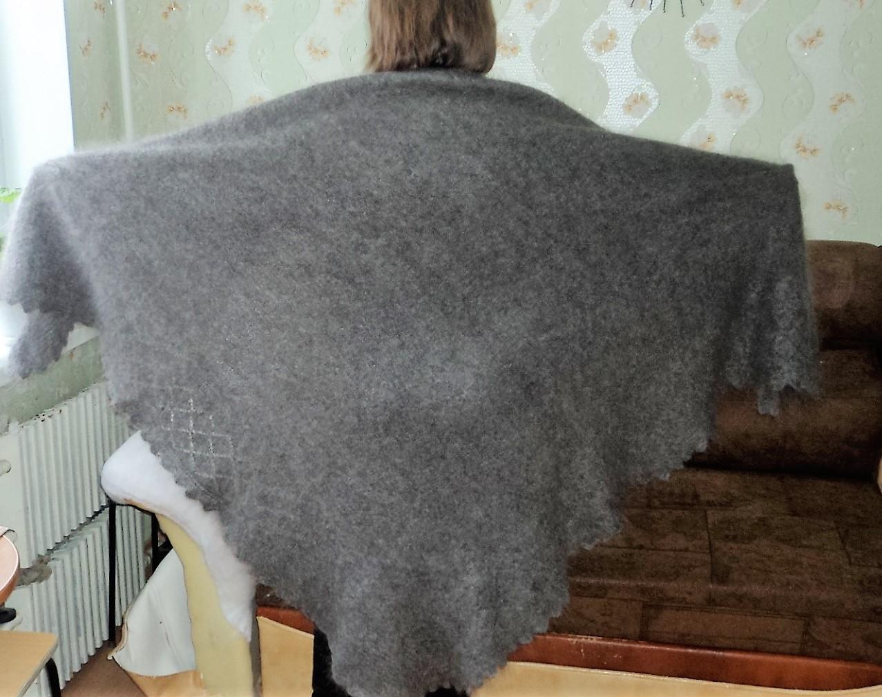 Оренбургская шаль как вязать