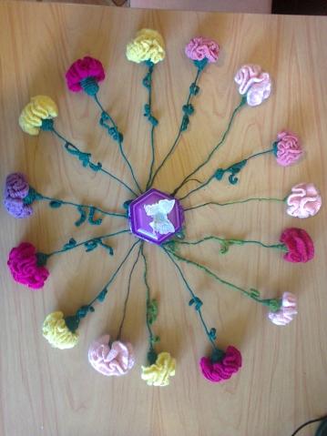 цветочная карусель