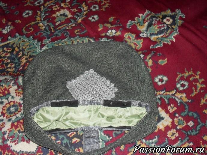 сумочка из кусочков